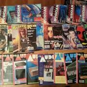 Revistas de tecnologia musical de principios de los 90