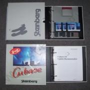 Atari Cubase 3.0 original con su dongle.