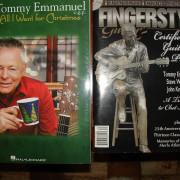 5 Libros de Fingerpicking Partitura y tablatura CD incluido