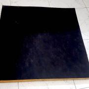 Techo registrable acústico negro. 140m2