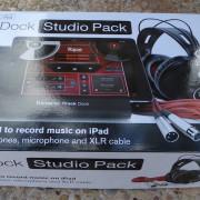 Ipad Focusrite iTrack Dock Studio Pack