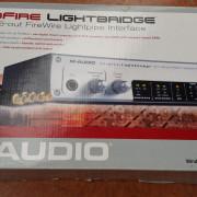 Targeta M audio 32 in 32 out ADAT