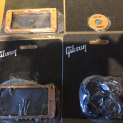 Clavijeros Schaller 3+3 guit, partes Gibson, funda semirígida, mercadillo