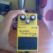 Boss SD-1 Super overdrive True bypass