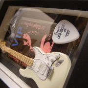 Fender 68 Stratocaster miniatura+pase+pua Yngwie Malmsteen