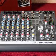 Allen & Heath ZED-10FX USB Audio Interface