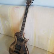 Guitarra luthier tipo esp