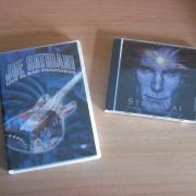 Satriani / Vai: lote CD y DVD