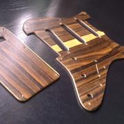 Golpeador de madera de ziricote