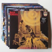 "Iron Maiden: ""First Ten Years"" en Vinilo (20 Lp's)"