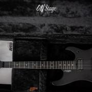 Washburn N4 Custom Shop Sandblassted Black Limited Edition 14/25