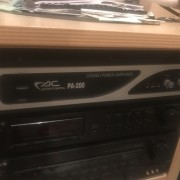 Etapa/amplificador acoustic control 90€