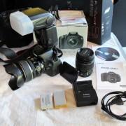 Camara Canon 600D.equipo completo
