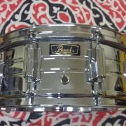 Caja Pearl B4514 Custom brass snare drum.