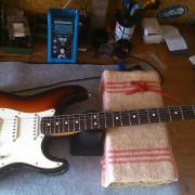 Fender Stratocaster Original 50 aniversario
