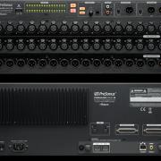 Presonus RM32AI interface 32 previos y mesa de mezclas.