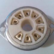 ZOCALO MAGNOVAL. 9 PIN ORO CERAMICO No usado antiguo stock (26,5mm)