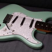 Squier Surf Green Vintage Modified - Como nueva