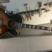 Electroacustica Gibson Blues King Electro