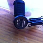 Microfono de solapa + alimentador Sennheiser MKE 40-3