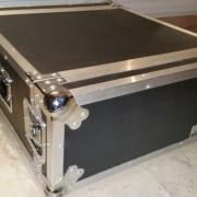 Flightcase de 4 unidades rack