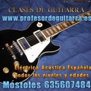 CLASES DE GUITARRA EN MOSTOLES Y ZONA SUR DE MADRID