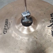 hi-hat zildjian zbt 14'' plus con pedal gibraltar