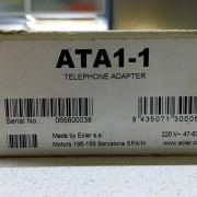 ECLER - ATA 1-1 / conversor linea teléfono