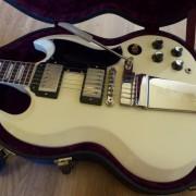 O cambio. Gibson SG Custom Shop Standard Reissue VOS Trem.