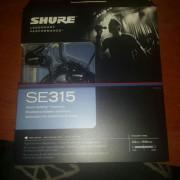 Auriculares Shure SE 315 k nuevos