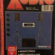 Revistas técnicas españolas por audio / sonido 1 profesional