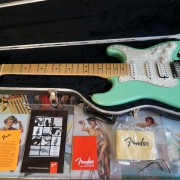 Fender American Stratocaster Surf Pearl 2002