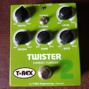 CHORUS / FLANGER T-REX TWISTER2 twister 2 impecable!