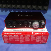 Interface Focusrite Scarlett 2i2 2nd Gen.