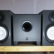 Monitores YAMAHA HS 8 + Subwofer YAMAHA HS 8S (+ cables Cordial)