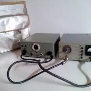 Emisora portatil vintage FM SENDER RSE 300. ELEKTRO APPARATEBAU MUNCHEN