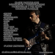 Clases de guitarra presenciales y por Skype
