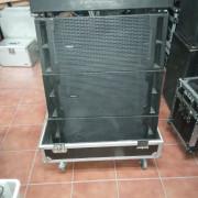Líne array audio center 210 DSP