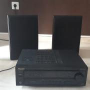 Altavoces máster audio 160 w par. más amplificador Pioneer