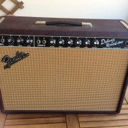 Fender deluxe reverb special edition red wine
