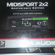 Interfaz Midi M-Audio Midisport 2x2