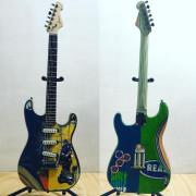 Frisina. Skate-guitar Stratocaster