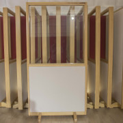 Mamparas aislantes 2x1 para hacer cabinas o acondicionamiento