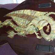 Custom Guitar EMG 13 pin MIDI Piezo 335 w/DRAGONS