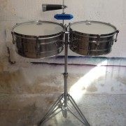 """timbales LP stainless steel 14"""" y 15"""""""