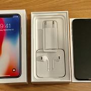 iPhone X 256Gb Space Gray / Negro - Libre