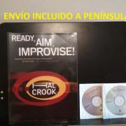 Libro Ready, Aim, Improvise - Hal Crook - Berklee - Envío incluido