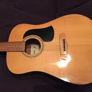 GUITARRA ACUSTICA ARIA COLECCIONISTA (oferta regalo inalámbrico guitarra)