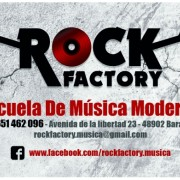 ROCK FACTORY - ESCUELA DE MÚSICA MODERNA