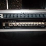 Rack/Amplificador Yamaha BBT500H Bajo+Ecualizador Peavey Q1311